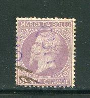 ITALIE- Timbre Fiscal- Oblitéré - 1900-44 Vittorio Emanuele III