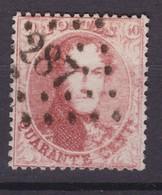 N° 16 B  :  287 OSTENDE ( Station ) - 1863-1864 Medaillen (13/16)