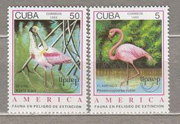 BIRDS Vogel Oiseaux Upaep America 1993 Cuba  Mi 3705-3706 MNH (**) #21149 - Unclassified