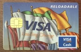 CANADA SCOTIA BANK BARCLAYS VISA CASH CARTE BANCAIRE CARTE À PUCE QUE POUR COLLECTION - Cartes De Crédit (expiration Min. 10 Ans)