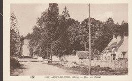 18 /  Ainay Le Vieil :   Rue Du Canal    ///  Avril 20 //   BO. 18 - Ainay-le-Vieil