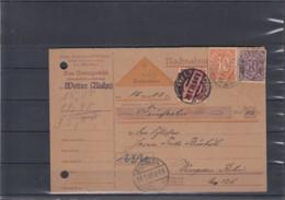 Deutsche Reich Michel Kat,Nr. Dienst Brief 21 NN (2) - Service