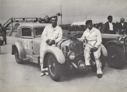 Alfa Romeo 6C 1750GS Coupé - Pilotes; André Rousseau/Paco - Concurrents Francaises Du Mans 1933) - PHOTO 15x10cms - Le Mans