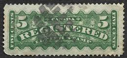 CANADA   1875-88 -  Lettres Chargées - N° 2 - Recomendados