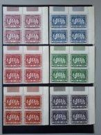 Timbres Congo-Belge : Les 5 Rois Belges 1958 N° 344 à 349  & - 1947-60: Mint/hinged