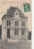 3-7----molinons--89--villeneuve L Ercheveque--la Mairie Et L Ecole --livraison  Gratuite - Villeneuve-l'Archevêque