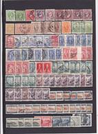 UN LOT DE 182 TIMBRES NEUFS**, NEUFS*,OBLITéRéS DONT MULTIPLES - Collections