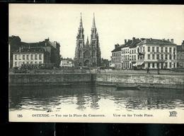 Carte Neuve:  Vue Sur La Place Du Commerce - Oostende