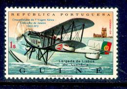 ! ! Portuguese Guinea - 1972 1st Plane Trip Lisbon-Rio - Af. 333 - MNH - Guinea Portoghese