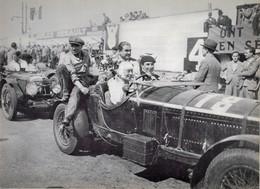 Alfa Romeo 6C 1750 - Pilotes: Mme Odette Siko/'Sabipa'  (Concurrents Francaises Du Mans 1932) - PHOTO 15x10cms - Le Mans