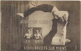 ~  JP  ~     ATTRACTION  UNIQUE    ~   équilibristes Sur Mains  .      E M   ~   A  R  ~ - Circo