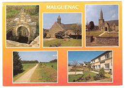 Malguenac  (56 - Morbihan) Multivues - Altri Comuni