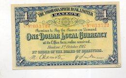 CHINE : Yokohama Specie Bank. 1 Dollar 1917 - China