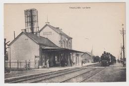 Thuillies Thuin La Gare (train Vapeur) STATION STATIE - Thuin