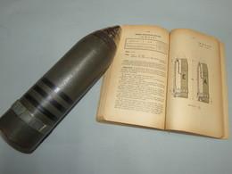 TRES BELLE MINE ALLEMANDE DE MINENWERFER LEGER DE 75MM MOD 1916 !!! - 1914-18