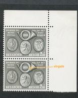 1046. Variété Sur Journée Du Timbre De 1958. Sans Charnière - Errors And Oddities