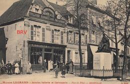 Photo: Abbeville, Maison Legrand, Sellerie Et Carrosserie, Place Du Pilori, Photo D'une Ancienne Carte Postale, 2 Scans - Lieux