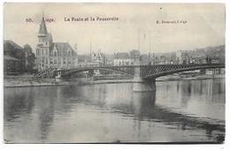 Liege   La Poste Et La Passerelle - Liège