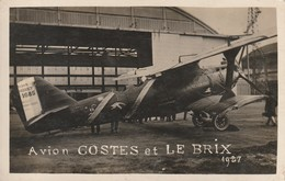 Avion Costes Et Le Brix 1927 - Breguet - 1919-1938: Entre Guerres