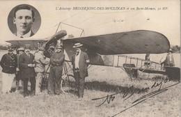 L'aviateur Brindejonc Des Moulinais Et Son Borel-Morane, 50 HP - Airmen, Fliers