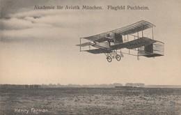 Akademie Für Aviatik München - Flugfeld Puchheim -Henry Farman - Muenchen
