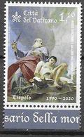 VATICAN, 2020, MNH, ART, PAINTING, 250th ANNIVERSARY OF DEATH OF GIAMBATTISTA TIEPOLO, 1v - Arts