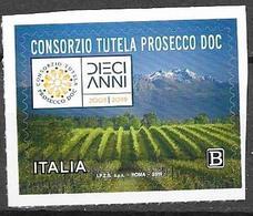 ITALY, 2019, MNH, WINE, TUTELA WINE CONSORTIUM, VINES,  MOUNTAINS, 1v - Wines & Alcohols