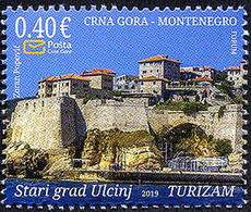 2019 Tourism, Old Town Of Ulcinj, Dulcigno, Ulqini, Montenegro, MNH - Montenegro