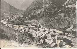 38. CPA. Isère. Oisans. Rioupéroux. Village Et Usines De Rioupéroux. - France