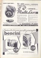 (pagine-pages)PUBBLICITA' BENCINI  Le Vied'italia1958/05. - Andere