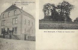Luxembourg  -  Hôtel Steffes-Stoltz , Flaxweiler - Altes Römergrab,10 Minuten Von Flaxweiler Entfernt - 2 Scans - Cartes Postales