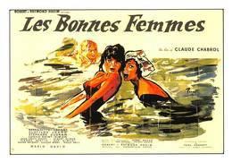 Brenot Affiche Cinéma Les Bonnes Femmes Bernadette Lafont Stéphane Audran - Autres Illustrateurs