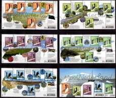 2019 Netherlands Nice Netherlands Frisian Islands Lighthouses Of Netherlands - Complete Serie 5 SS + 1 MS MNH**s - Ongebruikt