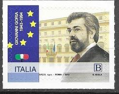 ITALY, 2019, MNH, POLITICIANS, GIOVANNI GORIA, 1v - Otros