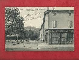 CPA - Miribel - Place De L'Hôtel De Ville Et Le Coteau - Autres Communes