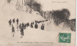 LE THILLOT, Col Des Croix, La Corvée De Neige - Pierre Sans N° - Le Thillot