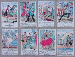 Expo 58 - Bruxelles - Brussel - 8 Cartes / Kaarten -  Humoristiques - Humour - Expositions