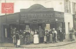 94 - Val De Marne - 10258 - SAINT MAUR DES FOSSES - Carte Photo Restaurant DROUET - Saint Maur Des Fosses