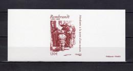 """"""" MENDIANTS A LA PORTE D'UNE EGLISE De REMBRANDT """" Sur Gravure Officielle De 2006. N° YT 3984  En Parfait état. - Rembrandt"""