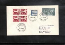Sweden 1980 Jokkmokk Area In Arctic Circle Interesting Cover - Polar Philately