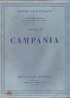 Touring Club Italiano - CTI - Attraverso L'italia - Campania.+2 - Geschiedenis,