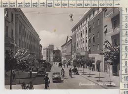 CIVITAVECCHIA VIA CENCELLE + AUTO 1954 VG - Civitavecchia