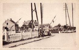 CPA - 59 - LAMBRES-LEZ-DOUAI - Rue De La Paix - Quartier Du Passage à Niveau - France