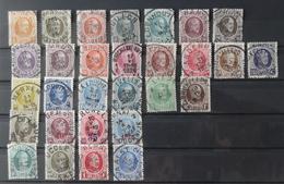 Houyoux : Beau Lot Oblitéré COB 190-210 + 245-248 + 254-257 - 1922-1927 Houyoux