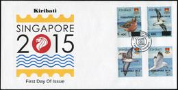 Kiribati 2015. Birds (Mint) First Day Cover - Kiribati (1979-...)