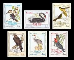 Australia 2020 Mih. 5122/27 Fauna. Birds - Emblems Of Australian States And Territories (self-adhesive) MNH ** - Ungebraucht