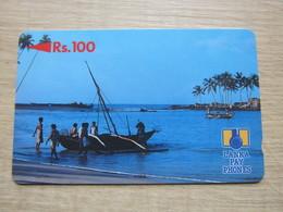 2SRLB Fish Boat At Bay,used - Sri Lanka (Ceilán)