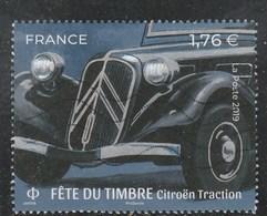 FRANCE 2019 ISSU DU BLOC FETE DU TIMBRE CITROEN TRACTION OBLITERE YT5303 - Oblitérés