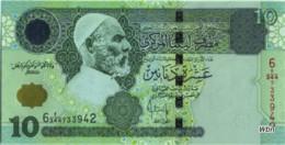 Libya 10 Dinars (P70) 2004 Sign 10 -UNC- - Libia