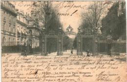 51br 1317 CPA - PARIS - LA GRILLE DU PARC DE MONCEAU - Parks, Gärten